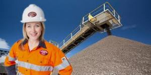 girl miner